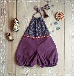 Your place to buy and sell all things handmade Bohemian Mode, Bohemian Gypsy, Gypsy Style, Boho Romper, Playsuit, Hippie Crochet, Boho Fashion, Fashion Outfits, Bebe