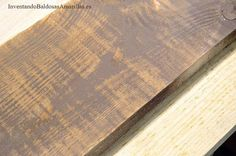 Cómo teñir madera y dejar la veta a la vista