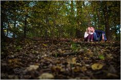 Fall engagement portraits in Media PA