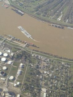 Mississippi river  new Orleans (might be chalmette)