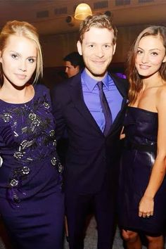 The Originals' cast. Claire, Joseph and Phoebe.