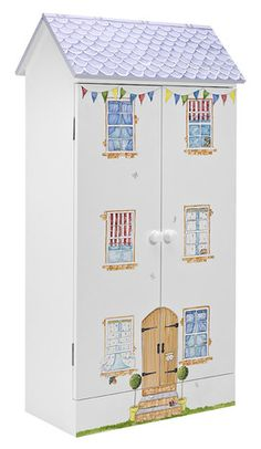 Finest Hand Painted Childrens Furniture | Dragons of Walton Street | Dolls House Book Cupboard