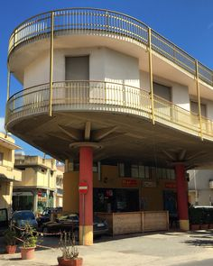 A quite amazing little tour de force of architectural expression in Pachino, Sicily