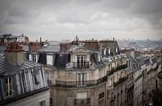 Paris, Travel, France, a room with a view, Montmartre : Amazing Rooftop views - Sivan Askayo