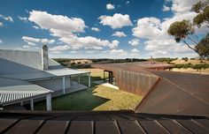 Brent Knoll, Melbourne, a project based on the archetypal Australian homestead.    March Studio architects.  Australia