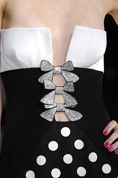 Valentino at Paris Fashion Week Spring 2008 - Details Runway Photos