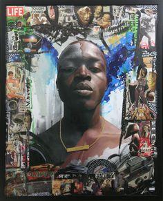Artists Delphine Diallo, Barron Claiborne and Jules Arthur Collab on 'Lion Base' Art Pieces - AFROPUNK