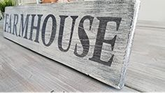 Farmhouse wood sign-dining room sign-kitchen decor-rustic wood sign-distressed sign