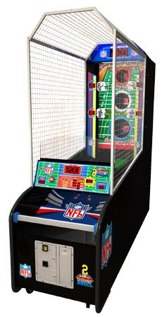 2 Minute Drill Football Throwing Arcade Game | From BMIGaming - http://www.bmigaming.com
