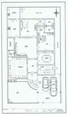 50x90 House Plan | 1 Kanal Modern House Plan | Pinterest | House, Plan  Design And Modern