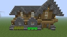Advanced and Compact Survival House Minecraft Project