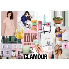 life by sol-g-rosas on Polyvore featuring moda, Lovers + Friends, Reebok, Christian Dior, Lipper, SS Print Shop, Reston Lloyd, Chanel and Sagaform