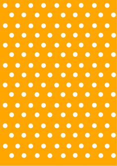 polka dot papers  orange