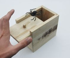 This simple box looks just like any other box. It's made from an old pallet; however, this box contains a hidden secret that should get more than just a slight reaction from an unsuspecting passerby. Encased in this simple wooden box is a plastic spider that will surprise anyone trying to open your box. I tried to get the reactions of a few of my friends on camera, however they were all too suspicious of me. If you get any great reactions with your spider box, please share them in the…