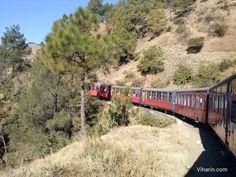 #unforgettable #toytrain #Journey to #shimla #train #kids #enjoyment #nature #scenic #views http://www.viharin.com/domestic/toy-train-shimla-himachal-pradesh