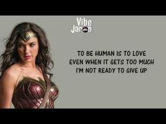 Sia - To Be Human (Lyrics) feat. Labrinth | Wonder Woman Soundtrack - YouTube