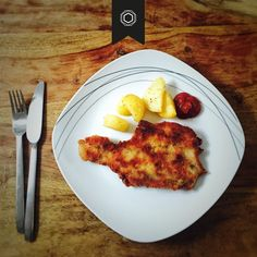 schnitzel French Toast, Eggs, Breakfast, Food, Morning Coffee, Egg, Meals, Egg As Food, Morning Breakfast