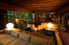 Ray Kappe's family home in Rustic Canyon, Los Angeles