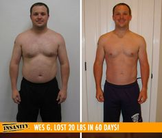 Wes G. lost 20 lbs i