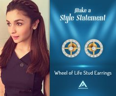 She may be the youngest Bollywood heartthrob but when it comes to style, she is a fine blend of classy and peppy. Get Alia Bhatt's stud look at https://aabhushanam.in/products/wheel-of-life-stud-earrings-at-327 [Disclaimer: HT Most Stylish Awards or the actor is in no way associated with Aabhushanam. The image is used only for reference.]