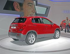 Chevrolet Trax di Paris Motor Show 2012