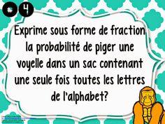 La classe de Karine: Les probabilités Fractions, Words, School, Cards, Horse