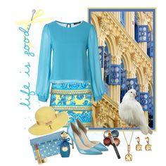 """Blue Dove"" by mzdiamondgirl on Polyvore"