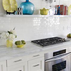 2x6 White Subway Backsplash Tile Design Ideas Pictures Remodel And Decor Page