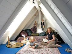 Small Space Living: 12 Creative Ways to Use an Attic Space ...