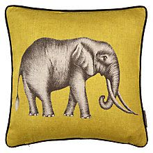 Buy Harlequin Savannah Cushion, Lemon Online at johnlewis.com