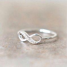 #Ring diy #Ring white #beautiful ...PUSH and choose