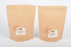 Sample 7215 Organic Quality Coffee Packaging Design Layout - Packaging Design Ideas & Online Archives | Packiii