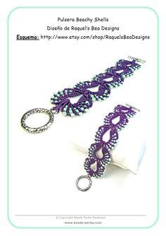 http://www.beads-perles.com/Pulsera-Beachy-Shells-Purpl