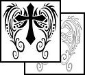 :) I just like the cross. I have another idea for my wings :)