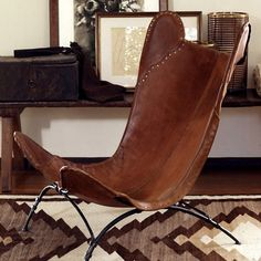 LOVE this cute little chair! So wonderful! Part of Ralph Lauren Home -California Romantic Collection!