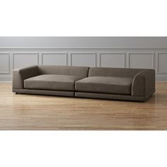 uno 2-piece sectional sofa | CB2