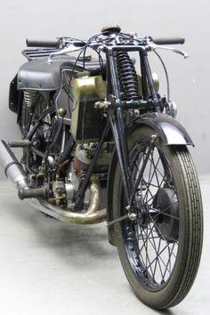 Scott 1934 Flying Squirrel 498cc