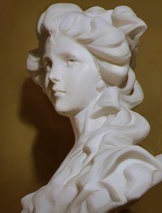 Bronze Statues Sculpture - Old Statues Sculpture - - Old Angel Statues Volume Art, Renaissance, Wow Art, 3d Models, Art Reference Poses, Art Studies, Aesthetic Art, Art Tutorials, Art Drawings