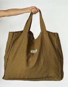 Diy Tote Bag, Carry All Bag, Linen Bag, Market Bag, Shopper Bag, Beautiful Bags, Fashion Bags, Pure Products, Sunshine Store