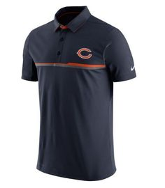Men s Chicago Bears Nike Navy Elite Coaches Performance Polo. Men s Football Nfl BroncosAthletic OutfitsAthletic ClothesMen s ... 0b2c7ddc9