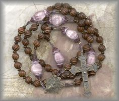 Brown and Purple ROsary