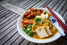 It has been a fascinating journey of trying to recreate my Mum's noodle recipes: Assam Laksa,  P enang Prawn Mee , Ipoh Kai See Hor Fun  a...