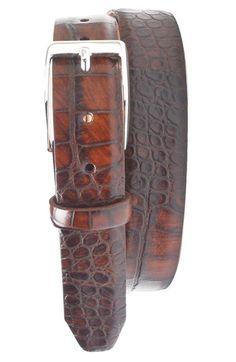 Martin Dingman 'Anthony' Leather Belt