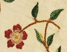 Cotton and silk ensemble, ca. 1798 (textile detail)