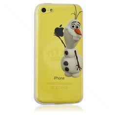 Capa de Silicone Transparente Olaf para iPhone 5c