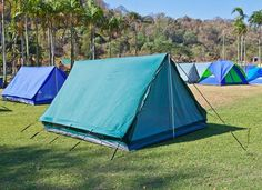 How long does it take you to pitch a tent?