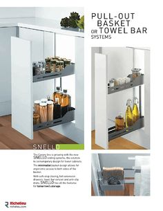 """Catalog - Richelieu innovates again: Discover the new """"Living Space"""" products - page 12 - Richelieu Hardware"""