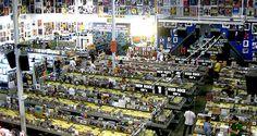 The greatest record store: #Amoeba Records in Hollywood, CA. Record stores still rock! http://celebhotspots.com/hotspot/?hotspotid=24208&next=1