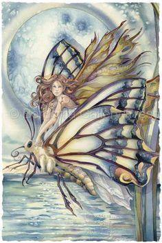 Dragon Rider Fairy by Jody Bergsma