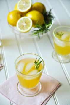Vodka Rosemary Peach Lemonade Sorbet
